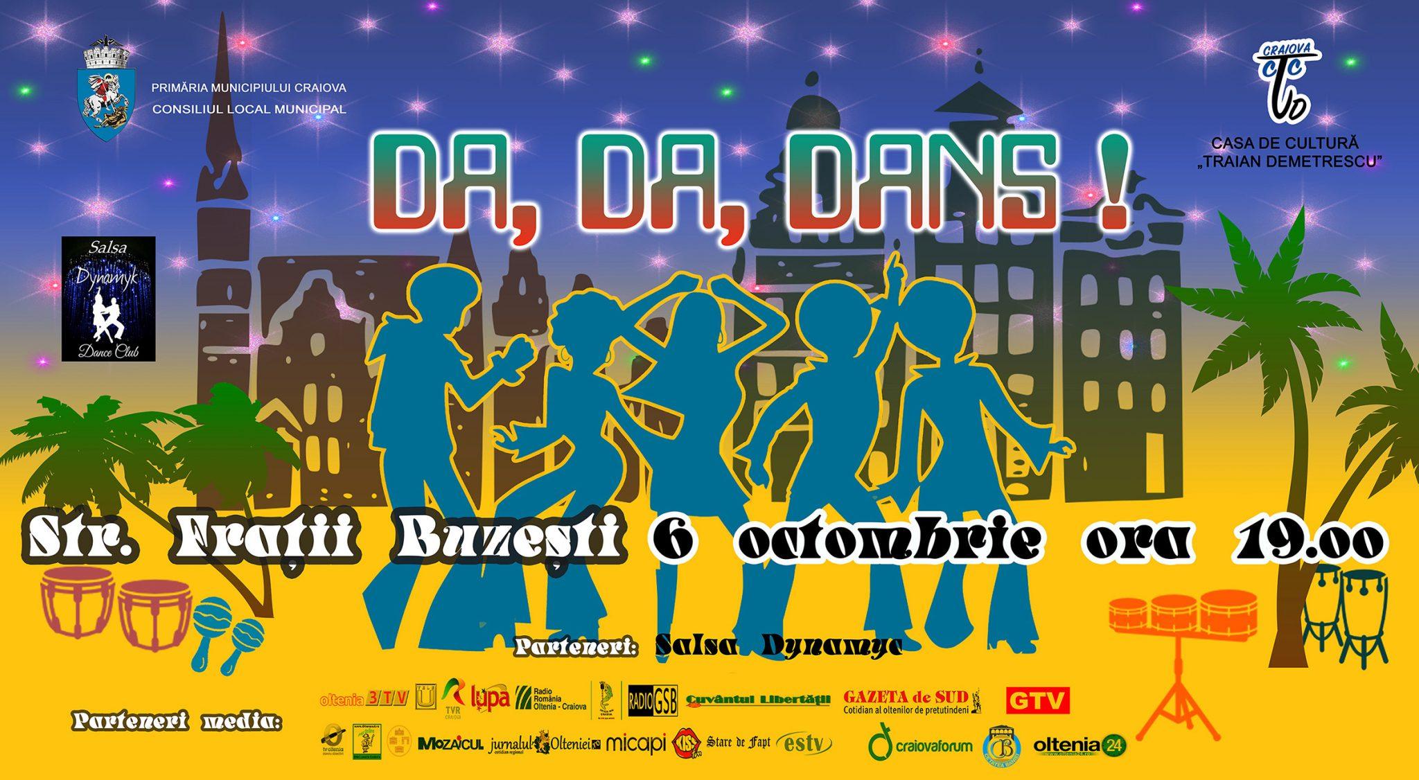 În Centrul Vechi al Craiovei: Da, Da, Dans!