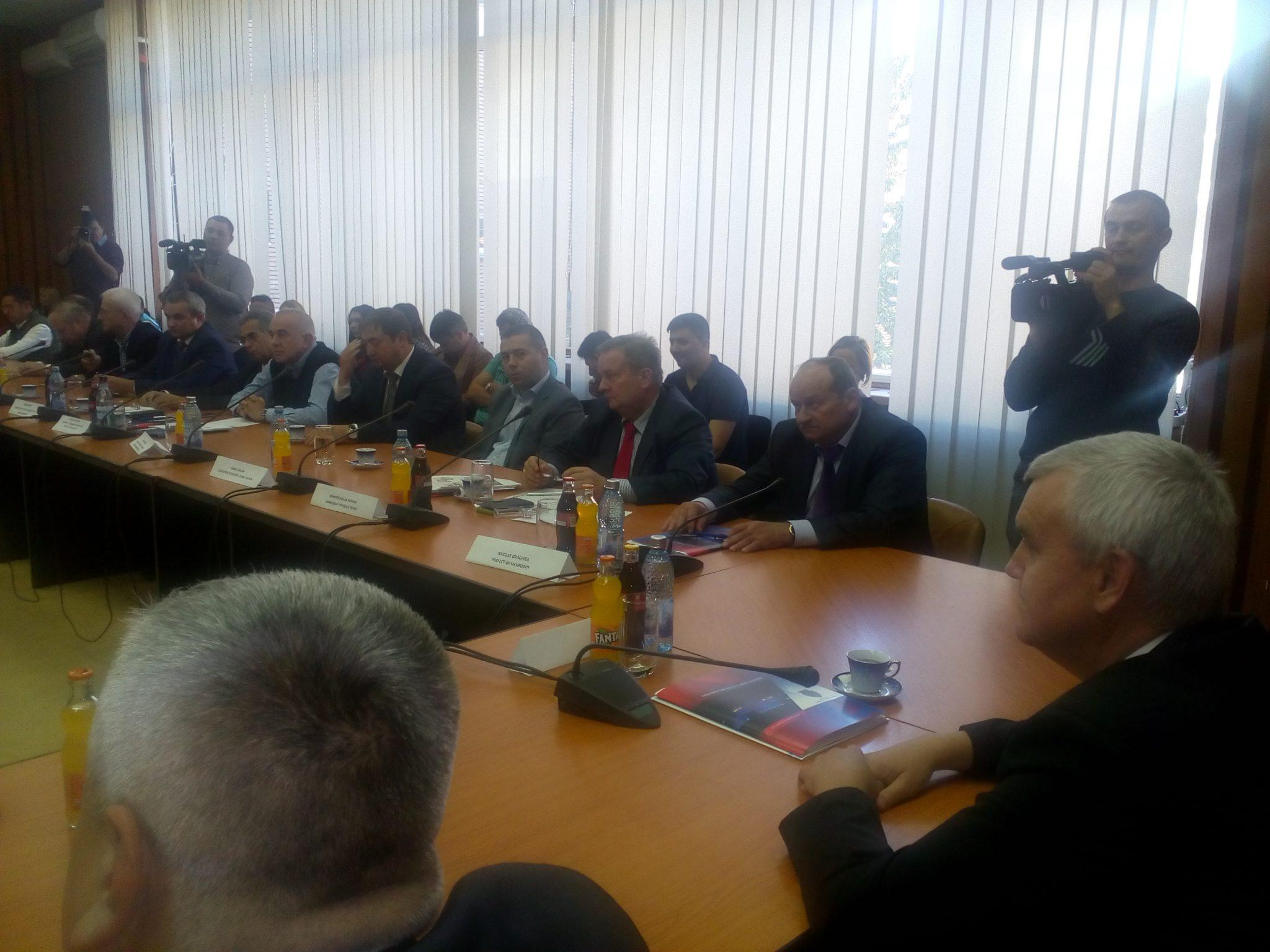 Mehedinți: Oficiali din Cehia, Polonia, Belarus și Tunisia caută oportunități de afaceri în județ