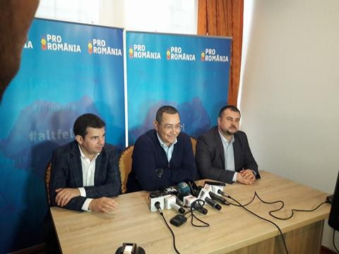 Victor Ponta, la Târgu Jiu: PRO România va avea candidat la prezidențiale