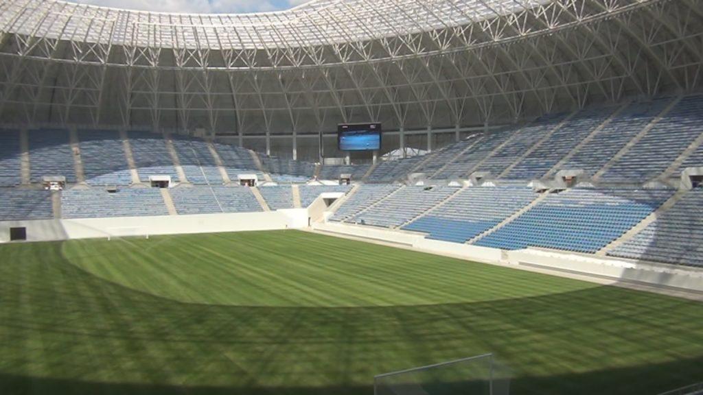 Primăria Craiova pregăteşte inaugurarea noului stadion. Evenimentul va costa circa 250.000 euro