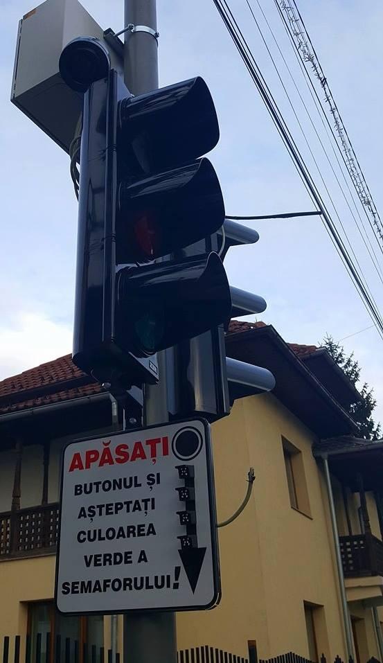 Semafoarele cu buton, funcţionale de la 1 decembrie în Târgu Jiu
