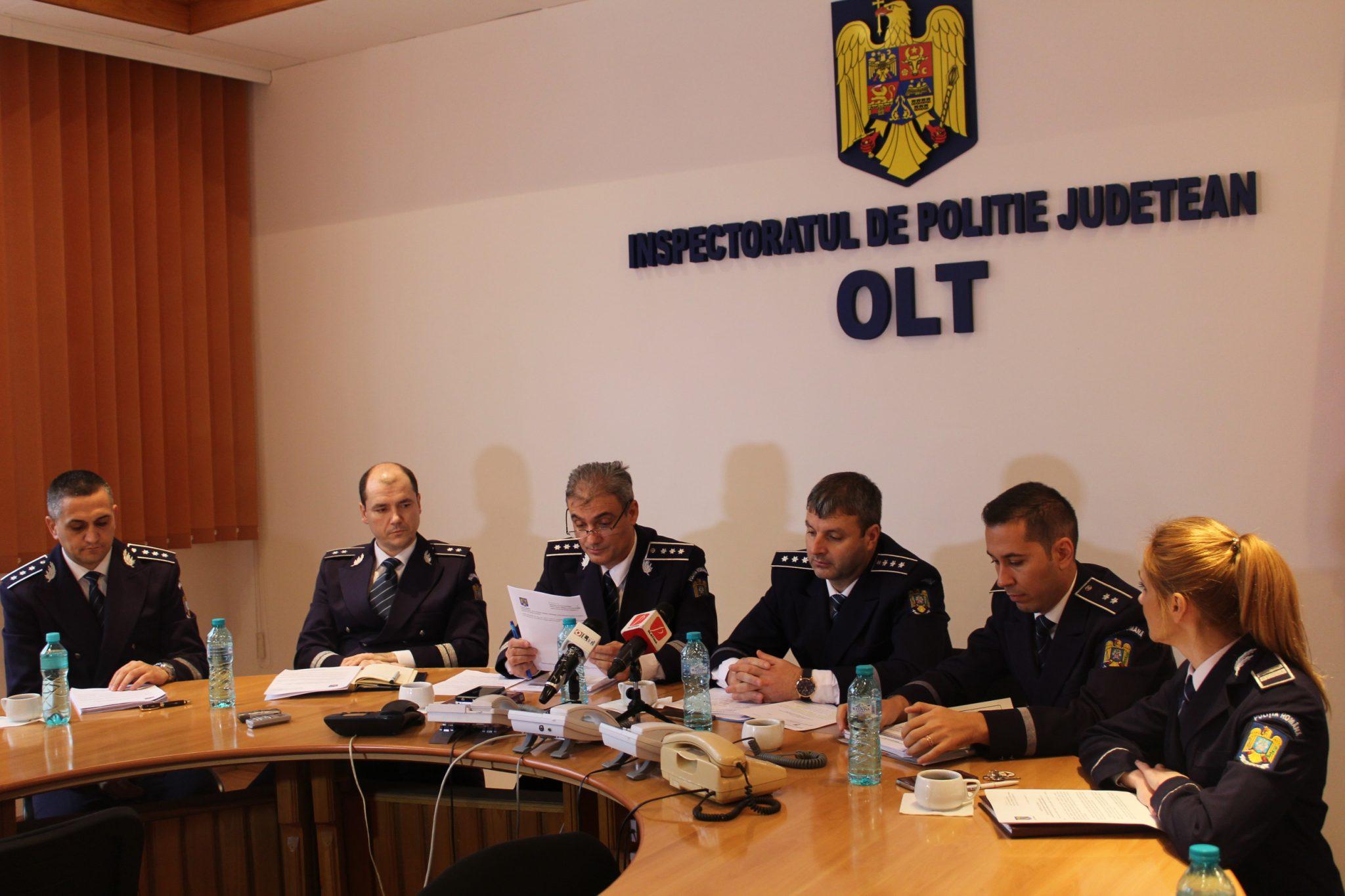 IPJ Olt, cercetare în cazul poliţistului bătut la Spineni