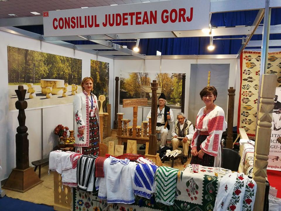 Județul Gorj, promovat la Târgul Național de Turism al României