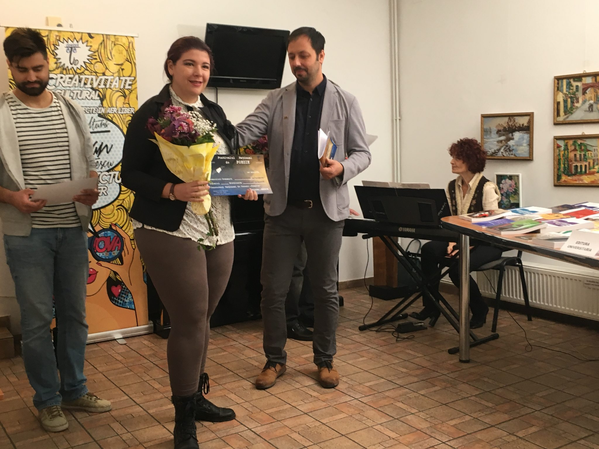 """Săptămâna TRADEM, la final. Au fost anunţaţi şi câştigătorii Festivalului Naţional de Poezie """"Traian Demetrescu"""""""