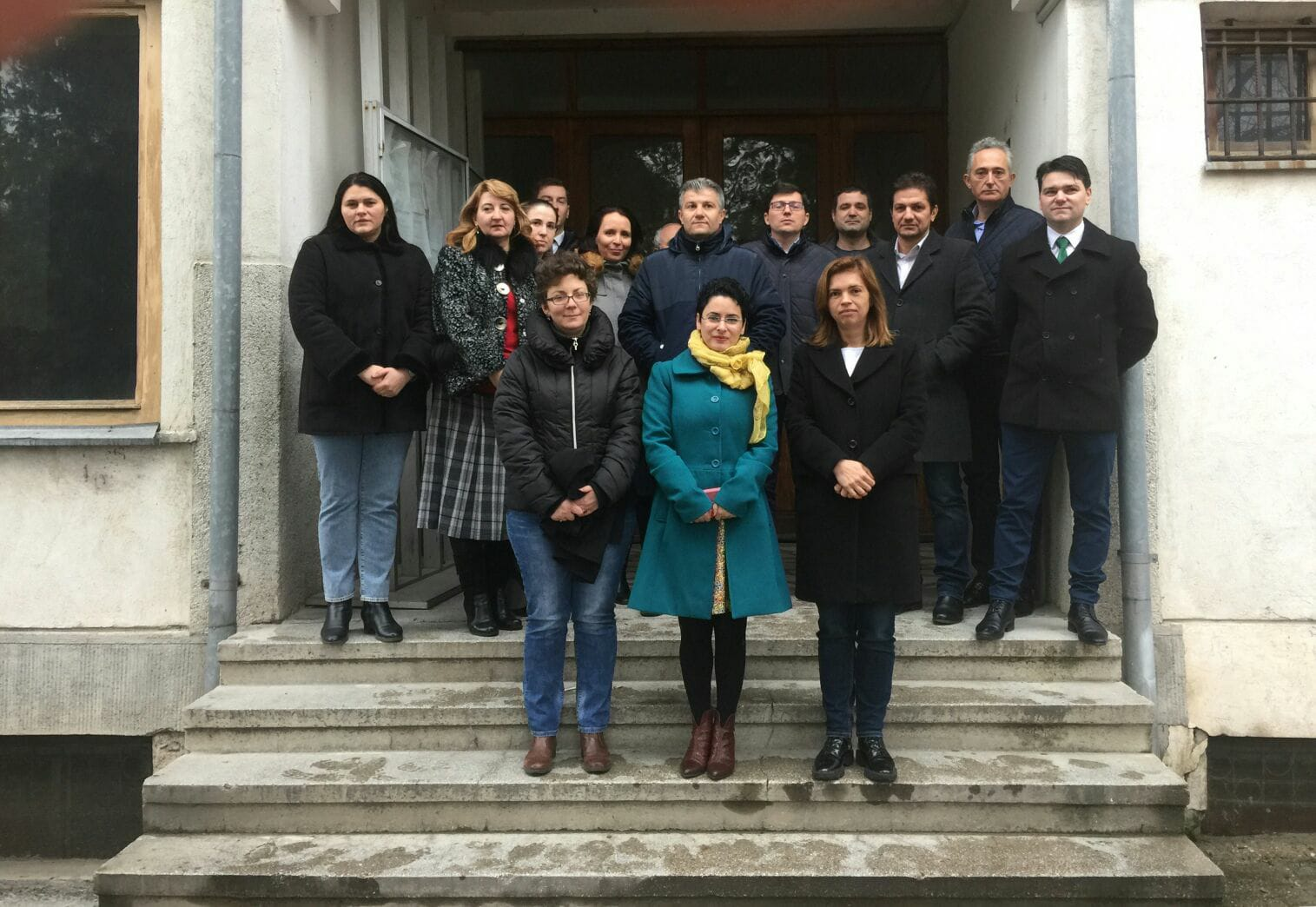 Protest la instanțele oltene față de Legile Justiției