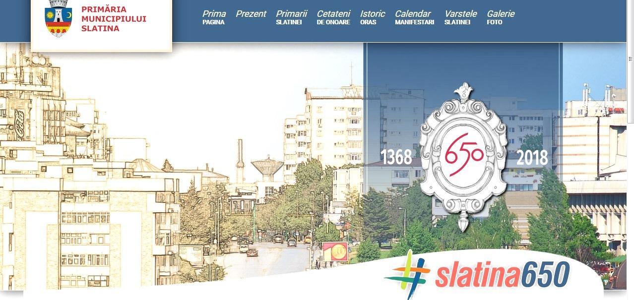 Slatina are site aniversar