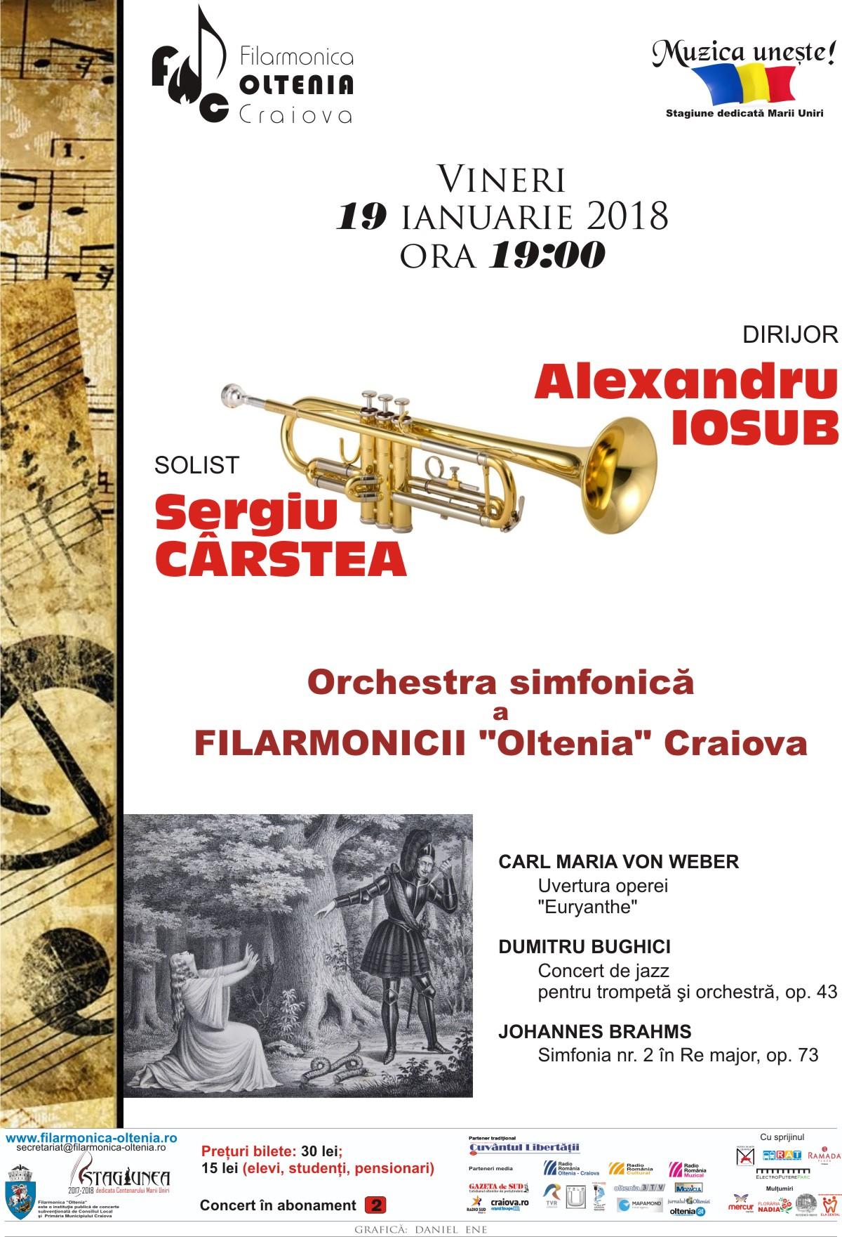 """Concert de jazz în primă audiţie, la Filarmonica """"Oltenia"""" Craiova"""