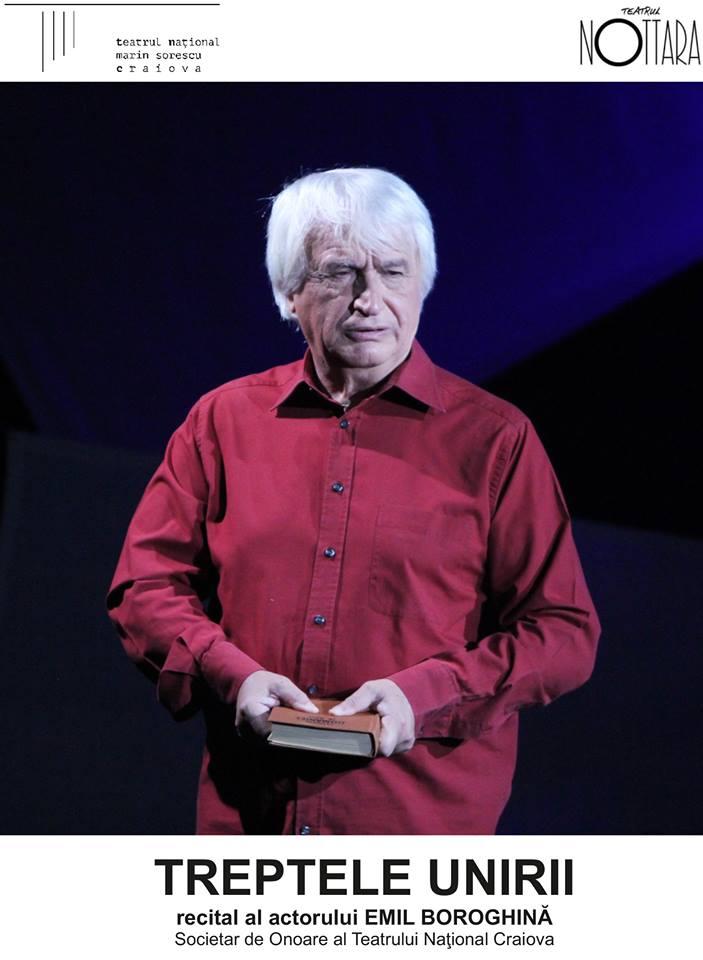 """După Craiova, Emil Boroghină prezintă recitalul """"Treptele Unirii"""" la Paris, Bruxelles, Haga şi Viena"""