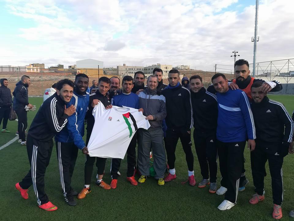 """Un severinean, """"șeic"""" în fotbalul iordanian"""