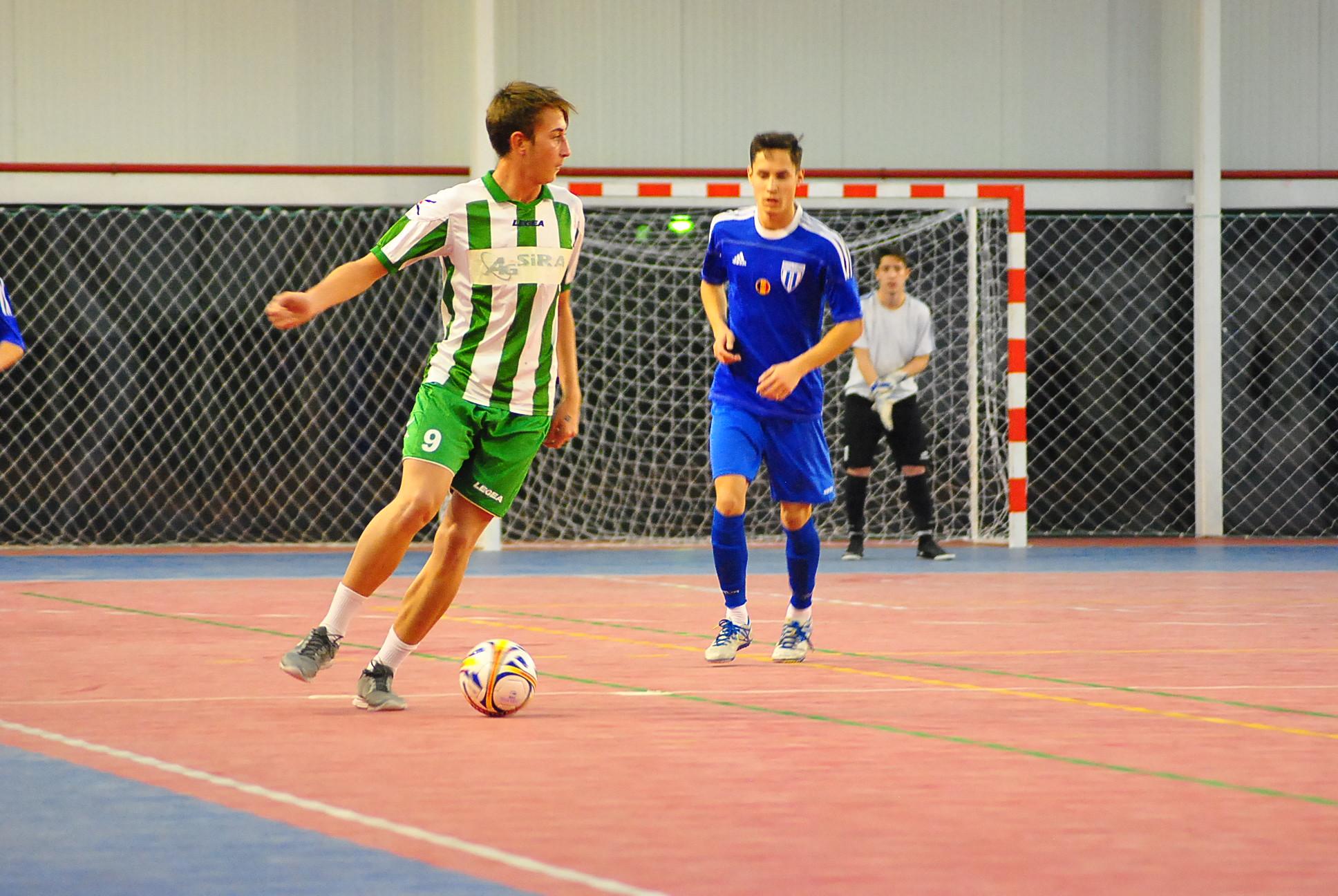 Futsal, Dolj/Start și la Ișalnița