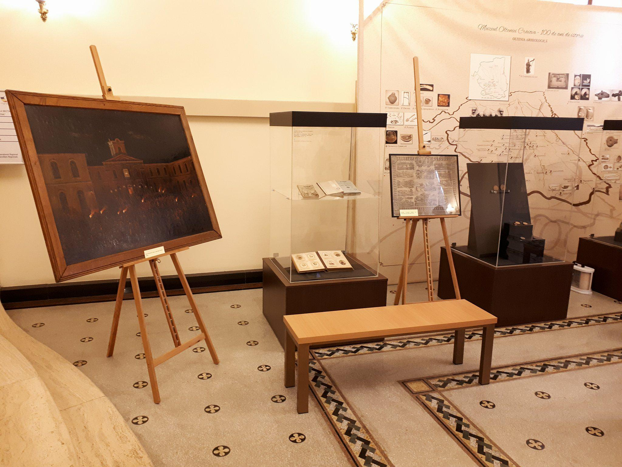 Oltenia și Unirea Principatelor, expoziţie în Muzeu