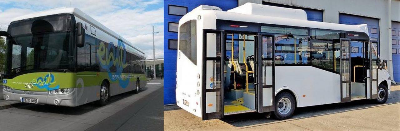 Primele autobuze urbane cu gaz natural comprimat din România, în Râmnicu Vâlcea