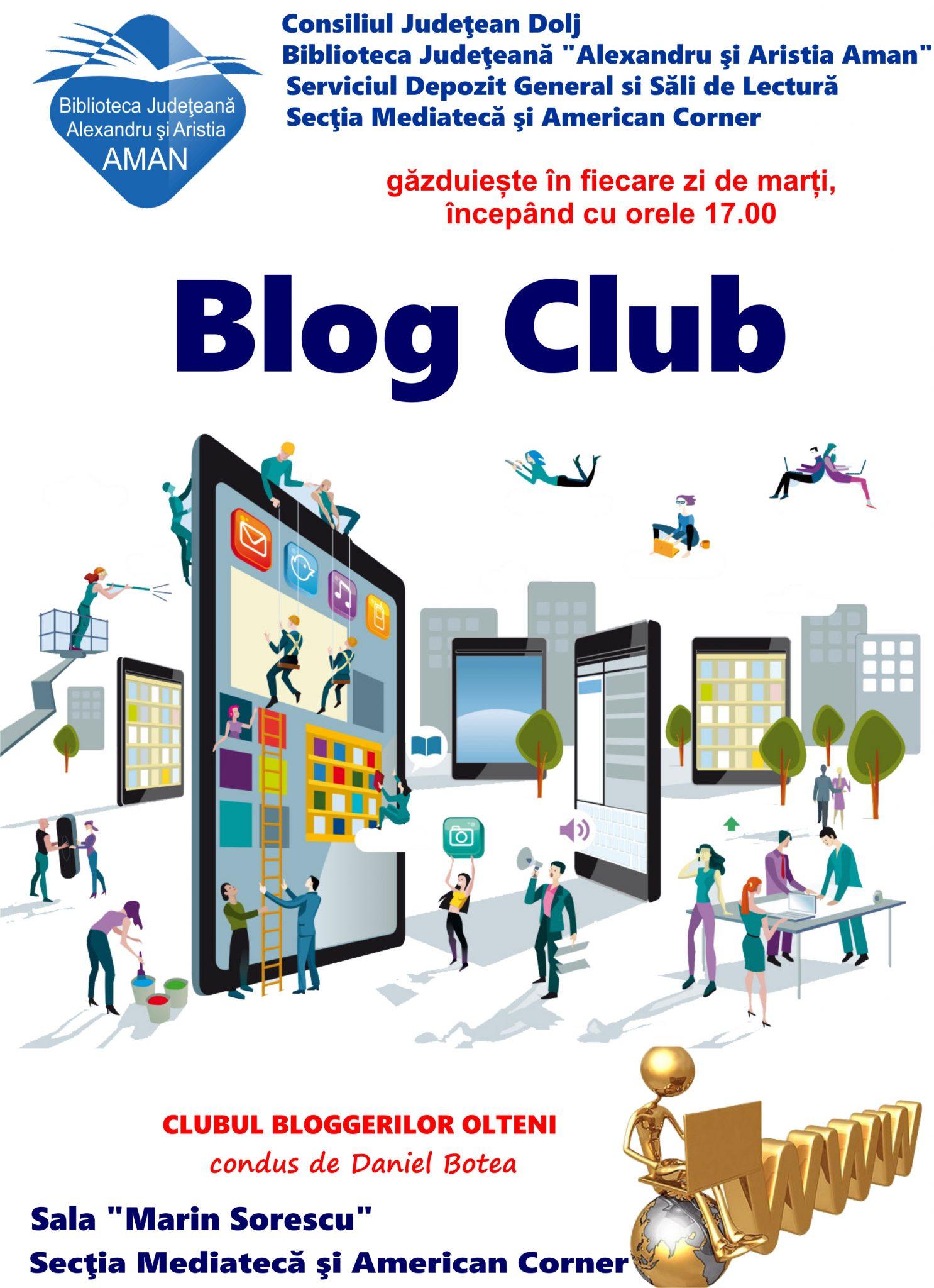 "Blog Club, la Biblioteca ""Aman"""