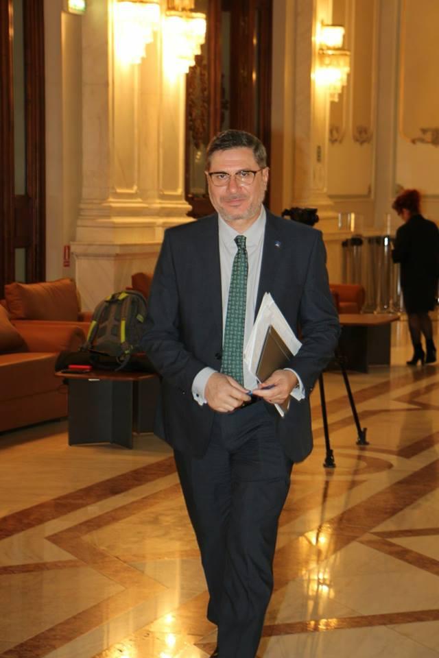 Mario Ovidiu Oprea, reales secretar în Biroul Permanent al Senatului