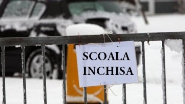 ISU Dolj anunţă: Şcolile, închise şi vineri