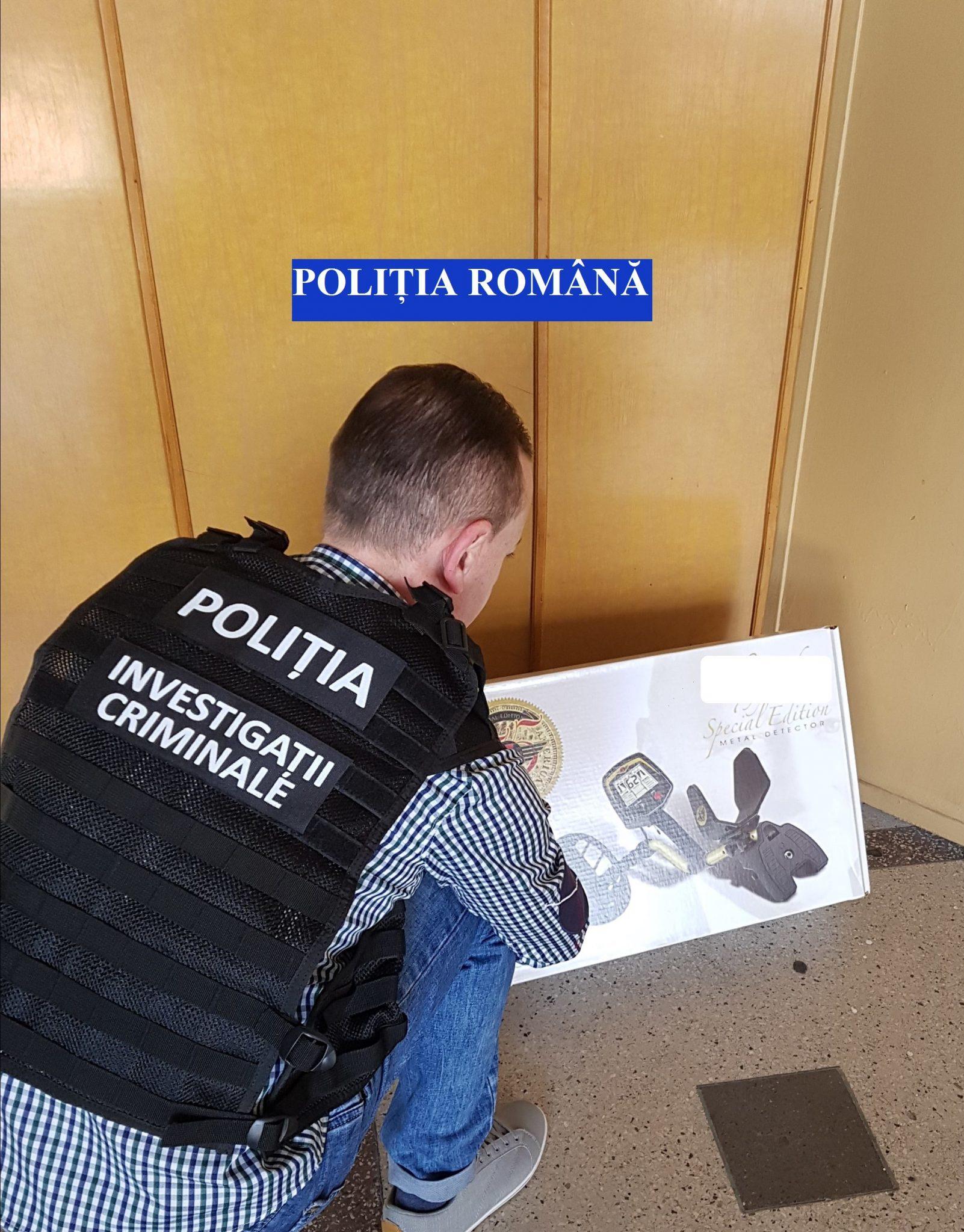 Cercetat penal după ce a vrut să vândă, pe internet, un detector de metale