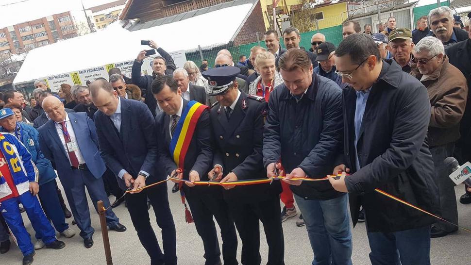 Sala Sporturilor din Târgu Jiu, inaugurată