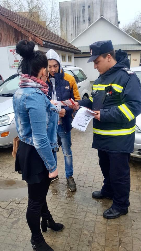 Ziua informării preventive, marcată de pompierii din Gorj