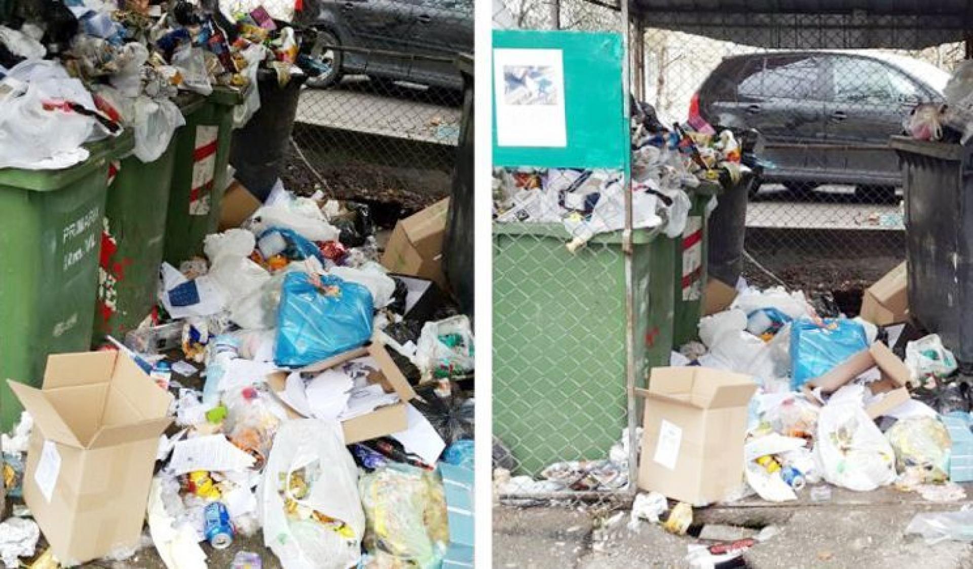Primăria Râmnicului a amendat Romprest pentru mizeria din oraş