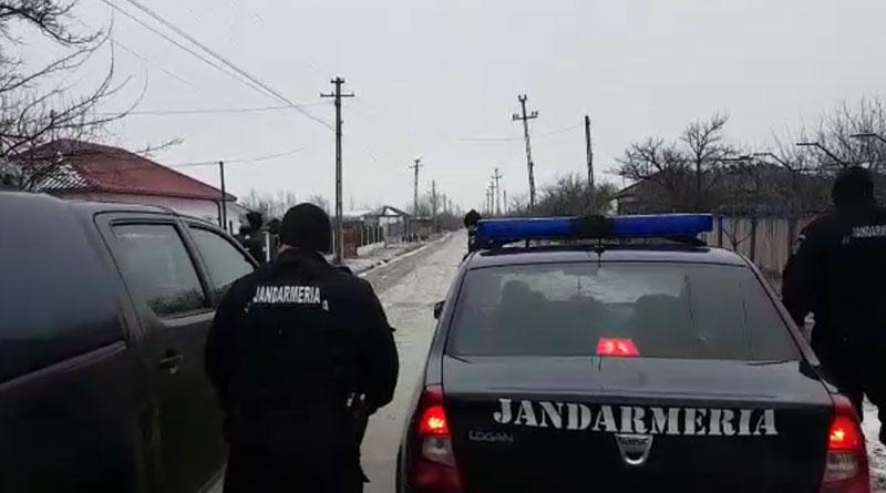 Mehedinți: Jandarmii au luat la puricat târgul Broșteni