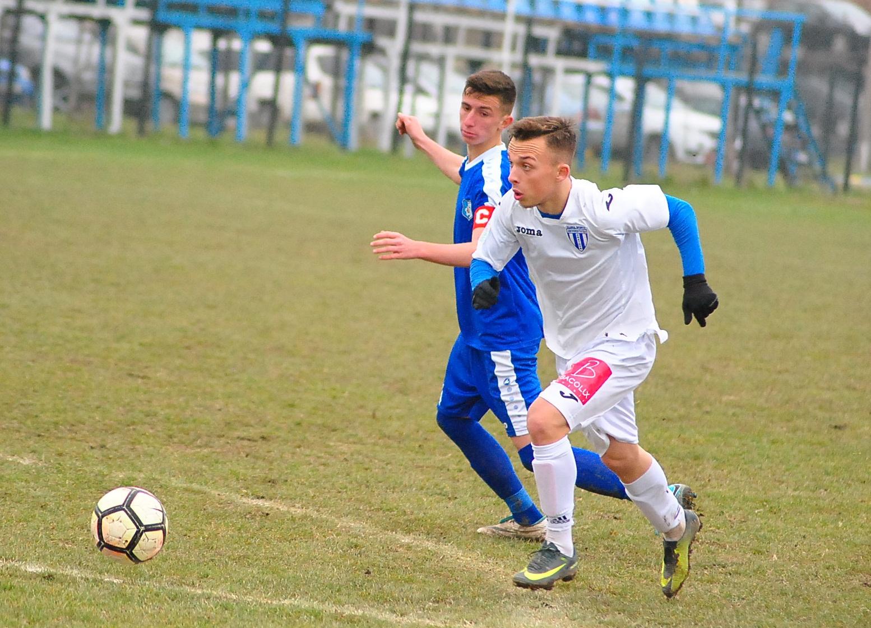 Fotbal juniori: CSU s-a impus în derbiul seriei