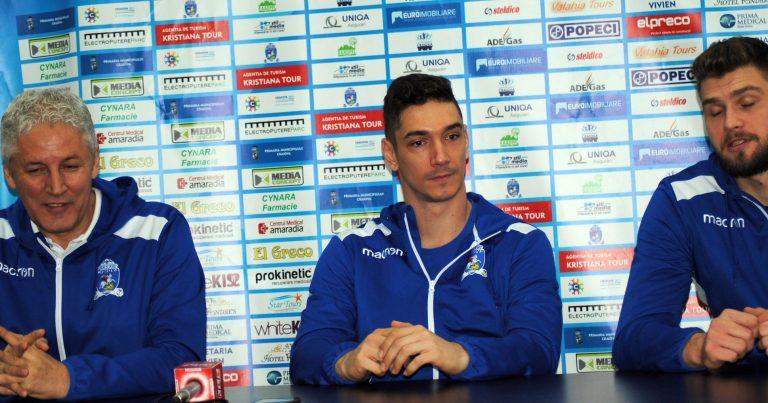Voleibaliștii vor victoria cu CSM București