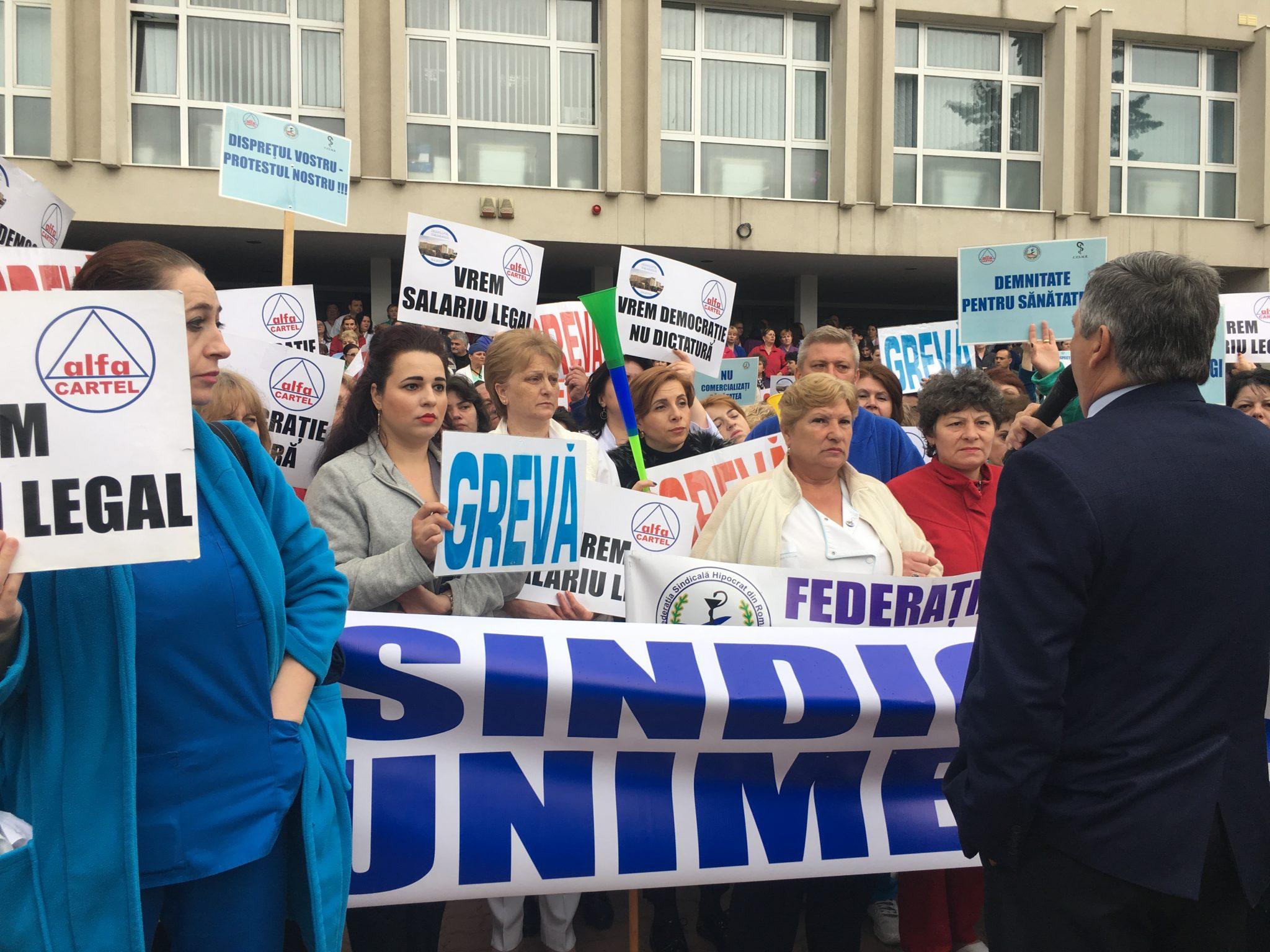 Un nou protest la SJU Craiova