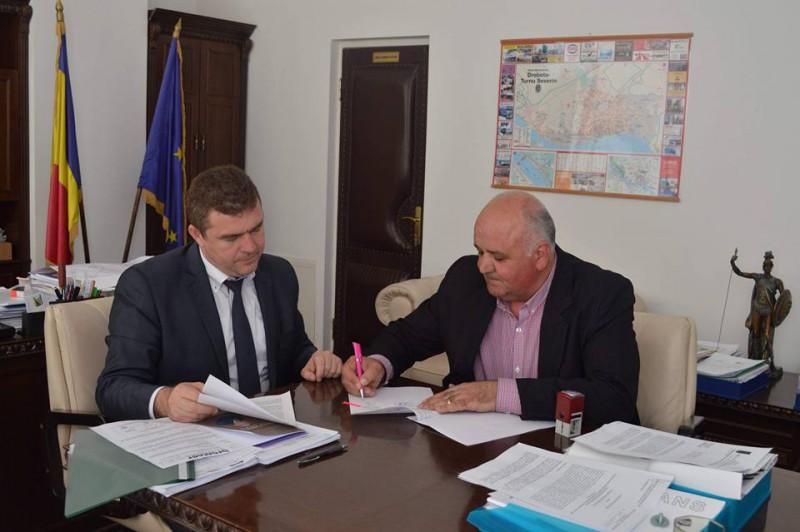 Mehedinți: Investiții prin PNDL la Balta și Cireșu