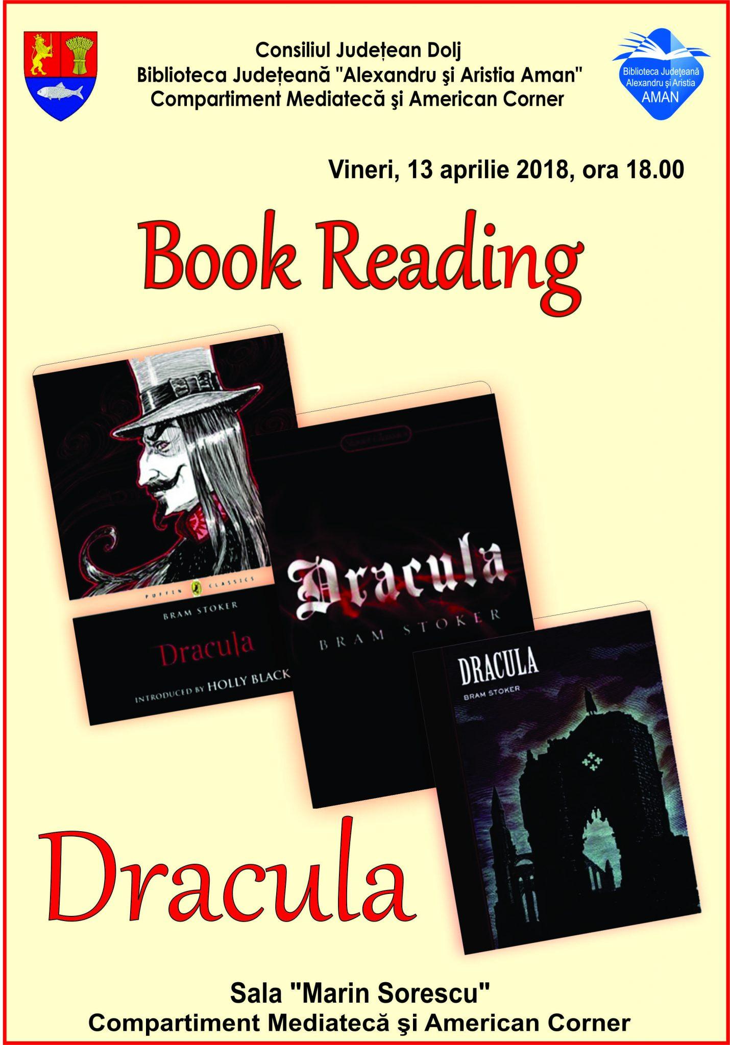Book Reading, la Biblioteca Aman