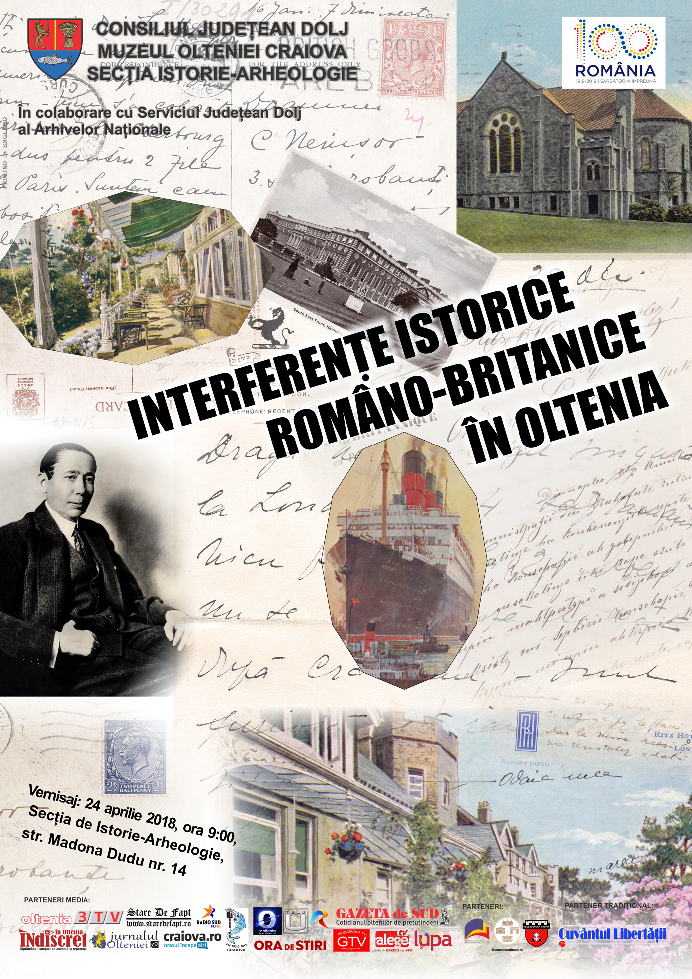 Craiova: Interferențe istorice româno-britanice în Oltenia