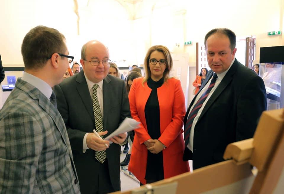 Ambasadorul Marii Britanii în România a vizitat Muzeul Olteniei din Craiova