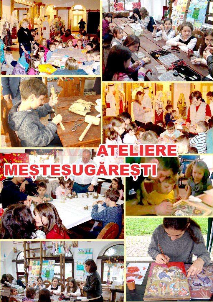 Craiova: Ateliere meșteșugărești dedicate copiilor și tinerilor la Muzeului Olteniei