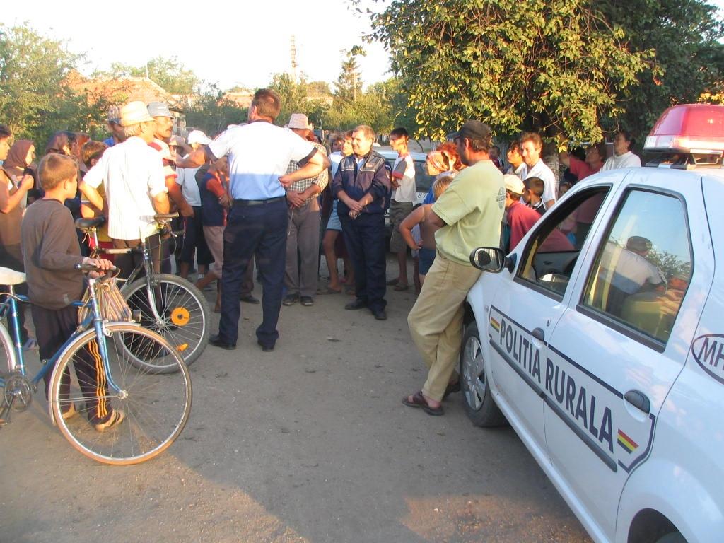 Mehedinți: Poliția a dat lecții de viață la Punghina