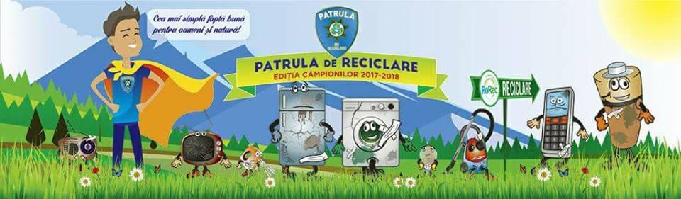 """""""Patrula de reciclare"""" activă și la Școala """"Mihai Viteazul"""" din Craiova"""