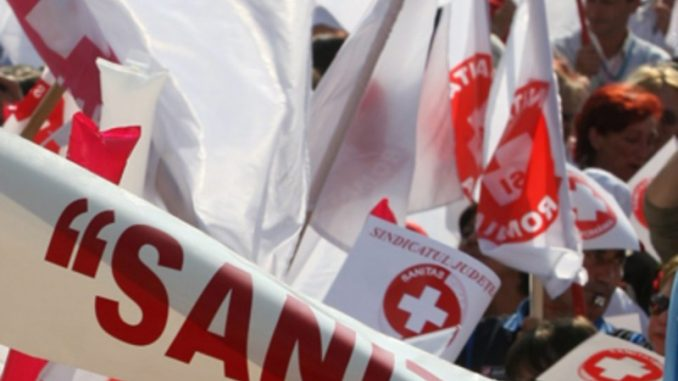 Sindicaliştii Sanitas la negocieri cu premierul şi miniştrii Muncii, Sănătăţii şi Finanţelor