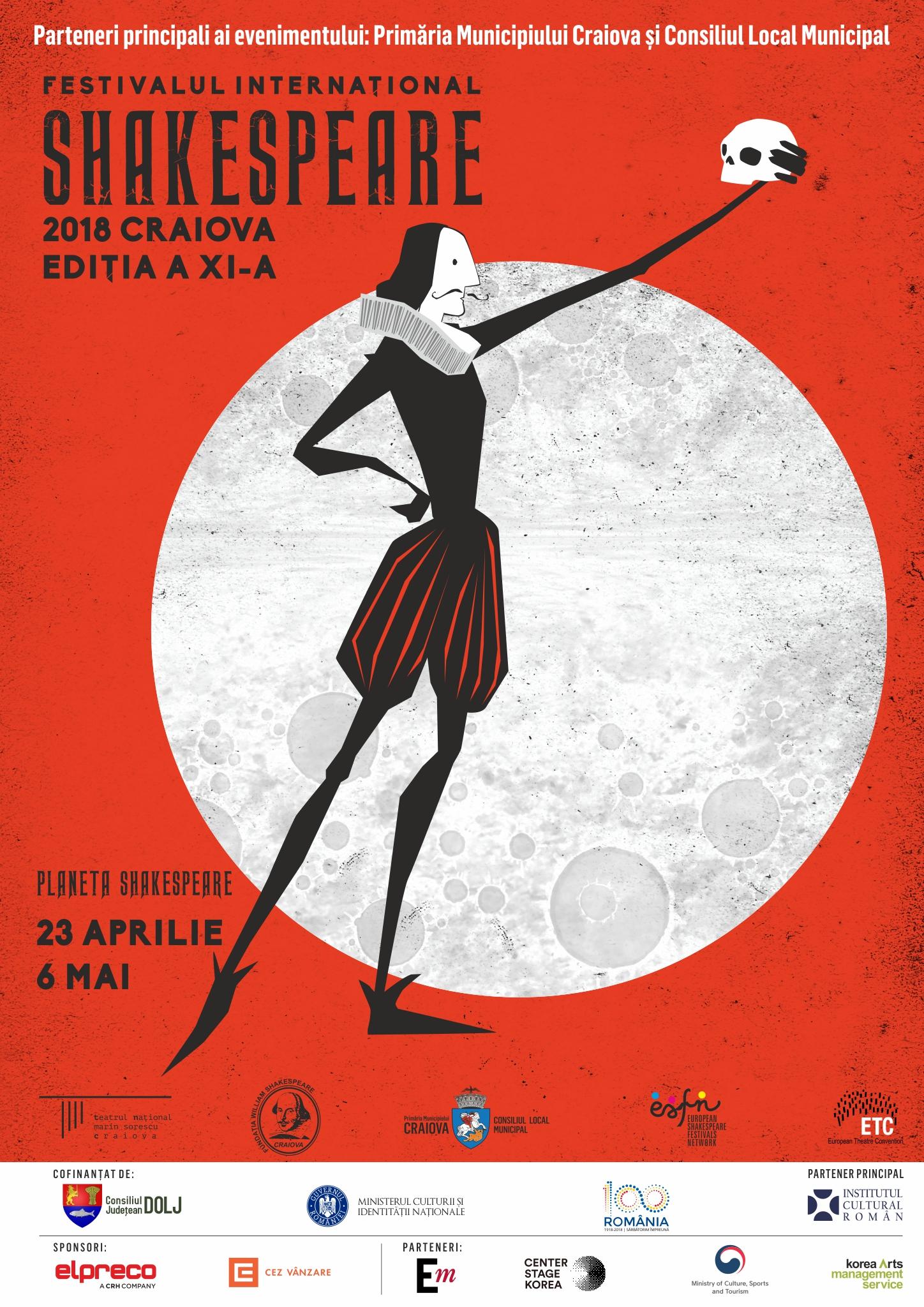 Festivalul Internațional Shakespeare de la Craiova, deschis cu Poveștile  africane  ale lui  Shakespeare