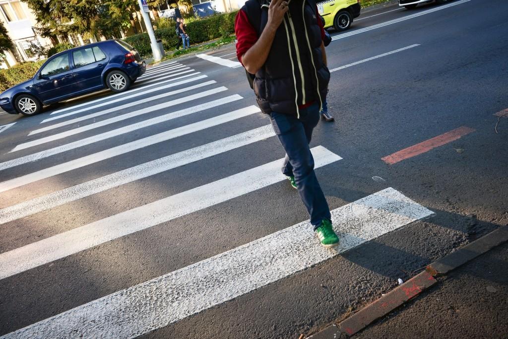 Craiova: Poliţiştii din cadrul Biroului Rutier au acţionat pentru protejarea pietonilor