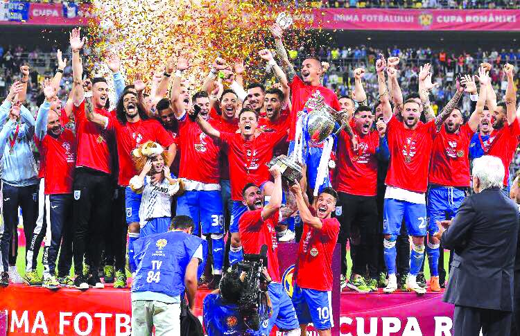 7 Cupe, 4 campionate, ale craiovenilor sunt toate!