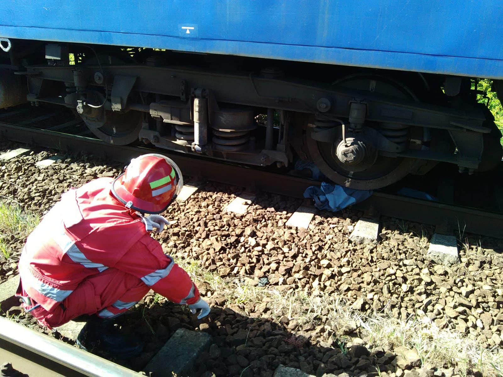 Bărbat lovit de tren în Gara Craiova