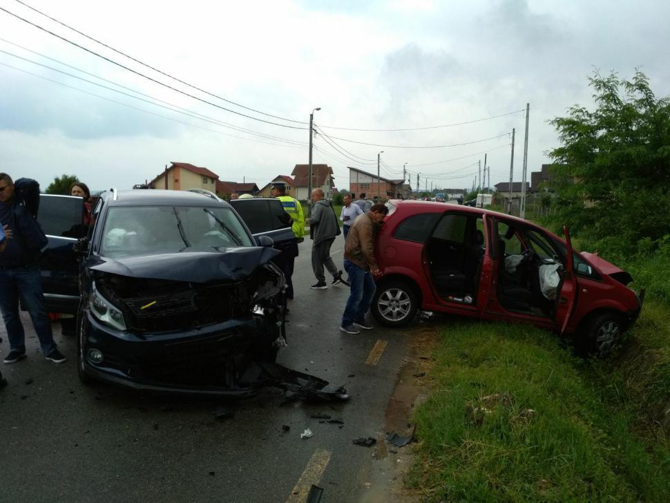 Accident cu trei victime în Târgu Jiu
