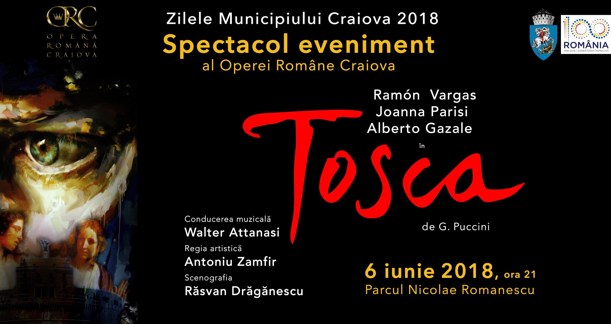 """Tosca"", un spectacol grandios la Craiova"