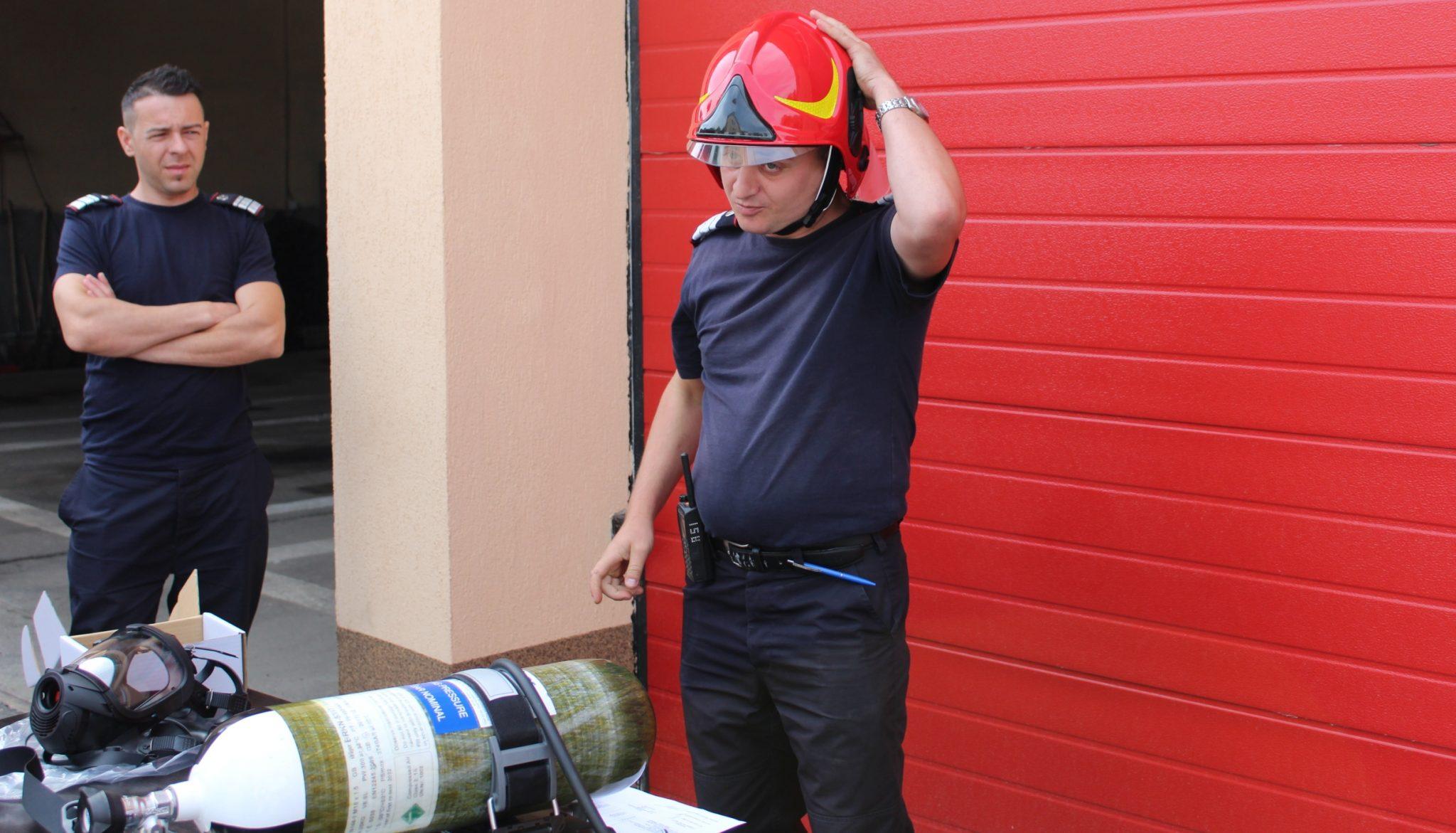 Slatina. Sală de sport pentru pompieri, cu bani de la CNI