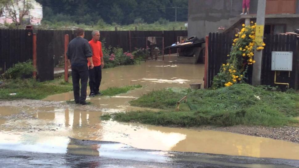Gorj: Gospodării inundate în comuna Schela
