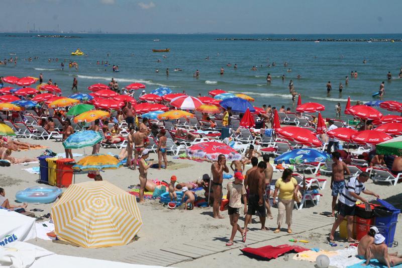 Cazarea pe litoralul românesc, mai scumpă de la 1 iulie