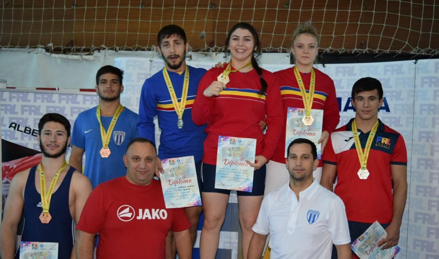 Luptătorii craioveni, de 13 ori pe podium la naționalele U23