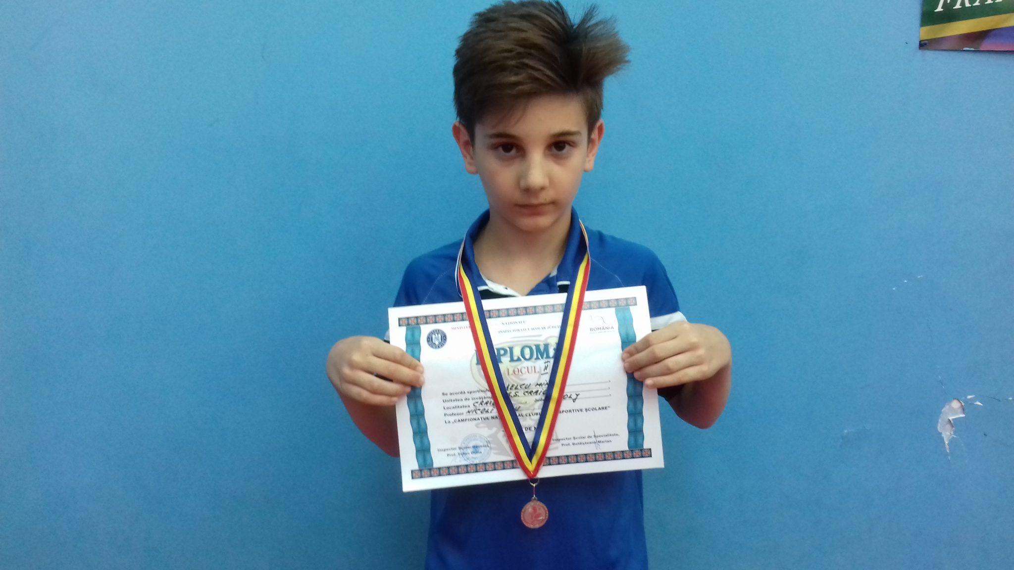Mihai Nedelcu, medaliat cu argintul național la întrecerea CSS-urilor