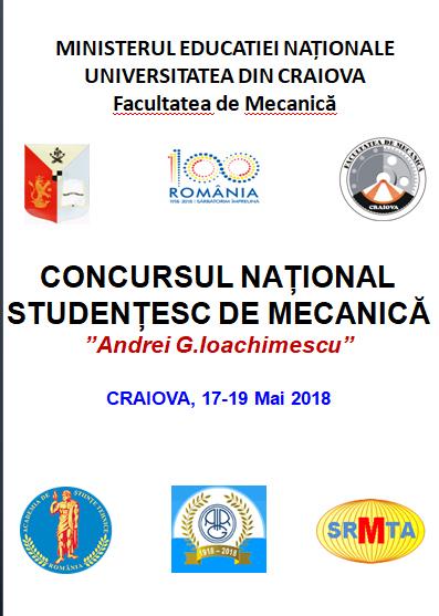 Cei mai buni studenți de la Mecanică, în competiție la Universitatea din Craiova