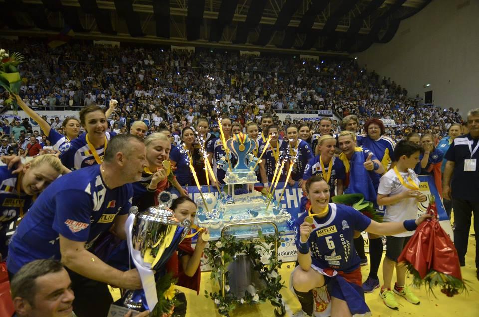 Cupa EHF, în Bănie