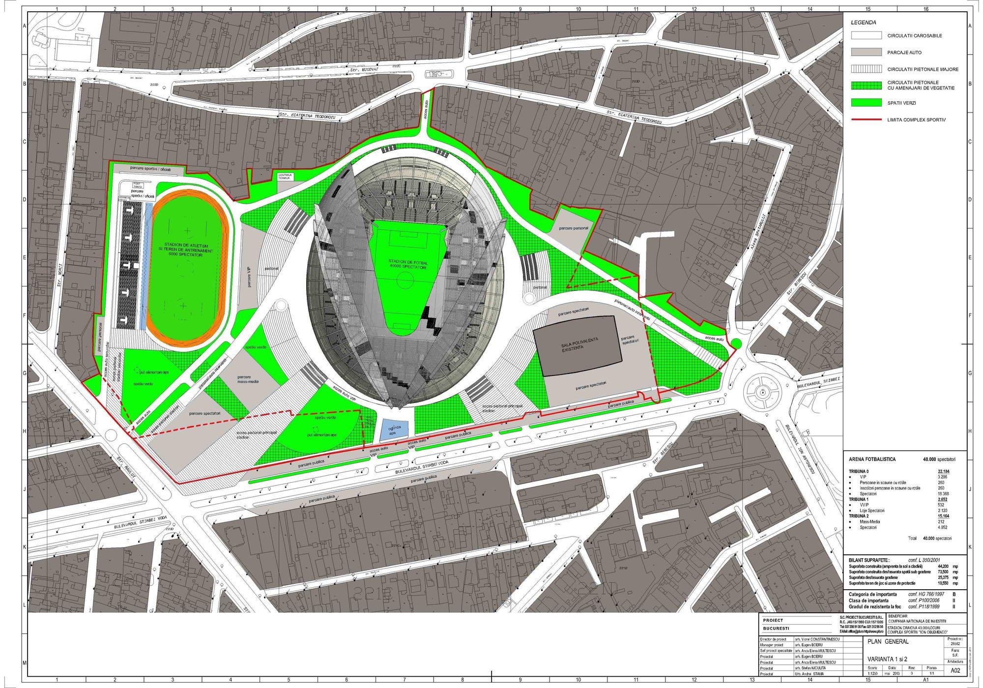 Stadionul de atletism, într-o nouă fază: s-au întâlnit proiectantul cu consultantul!