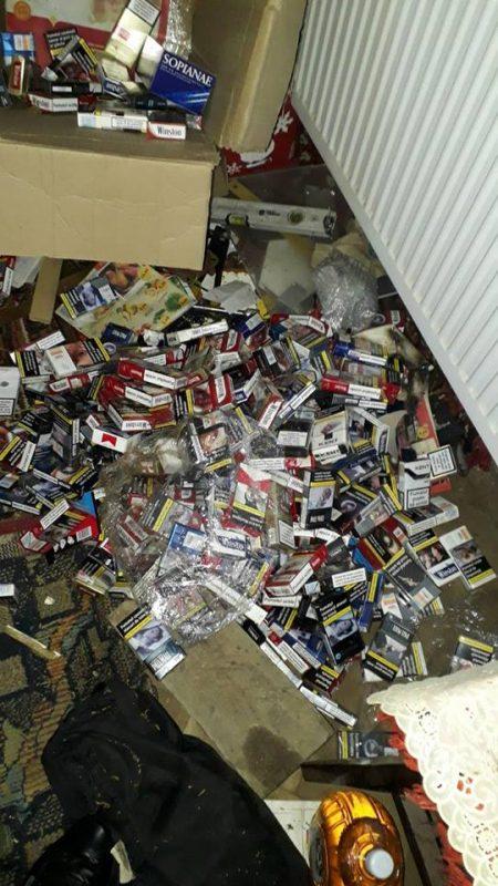 Prinsă de 17 ori cu ţigări de contrabandă